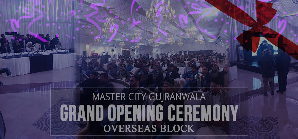 Master City Overseas block ceremony